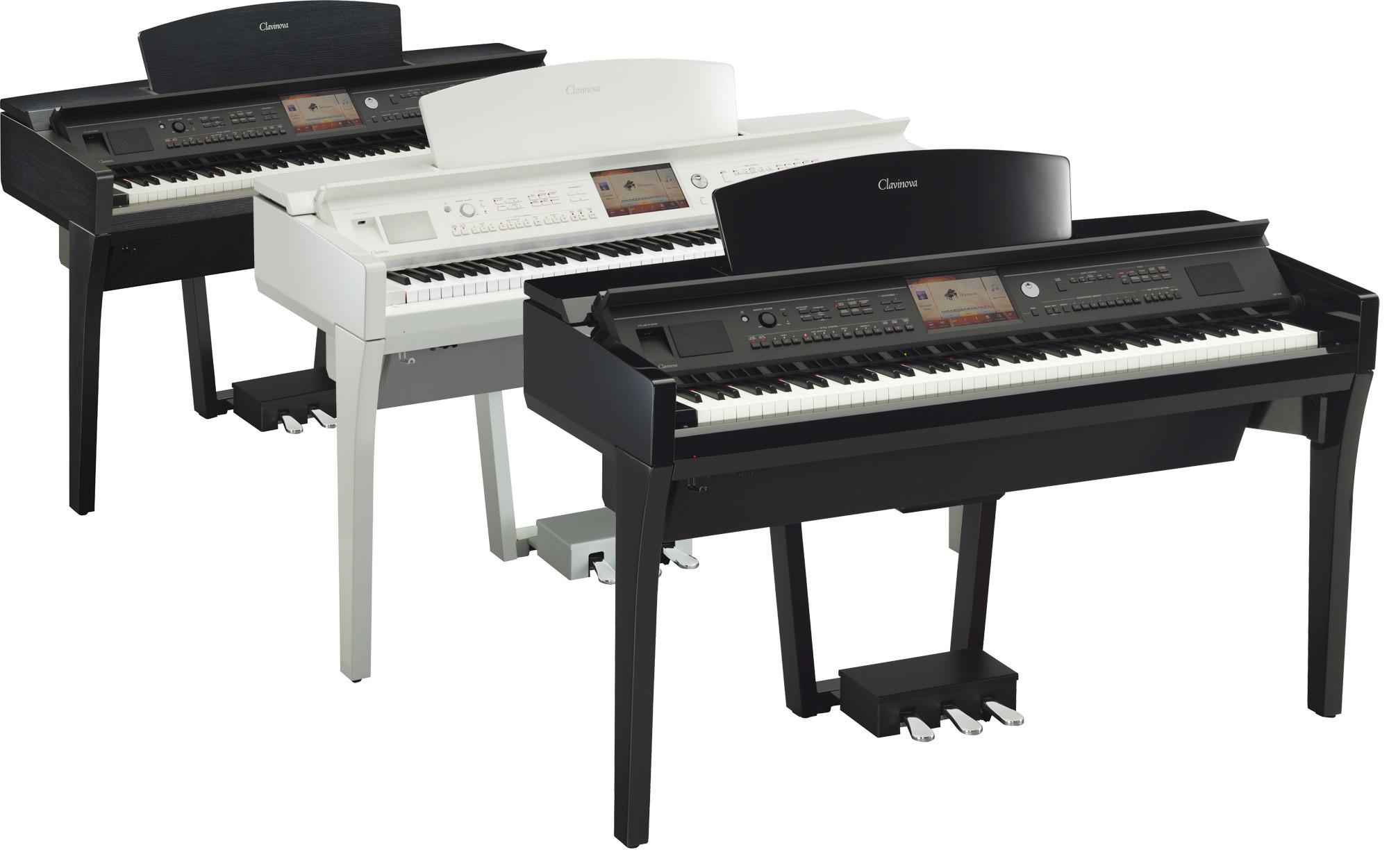 Yamaha cvp 709 clavinova digital pianos in polished ebony for Yamaha cvp 709