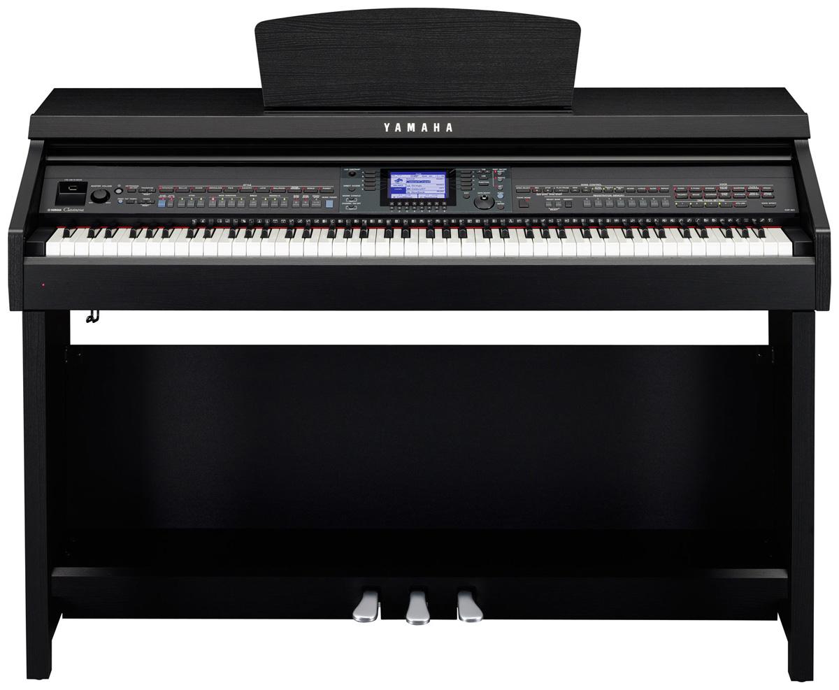yamaha cvp 601 clavinova digital piano in black walnut