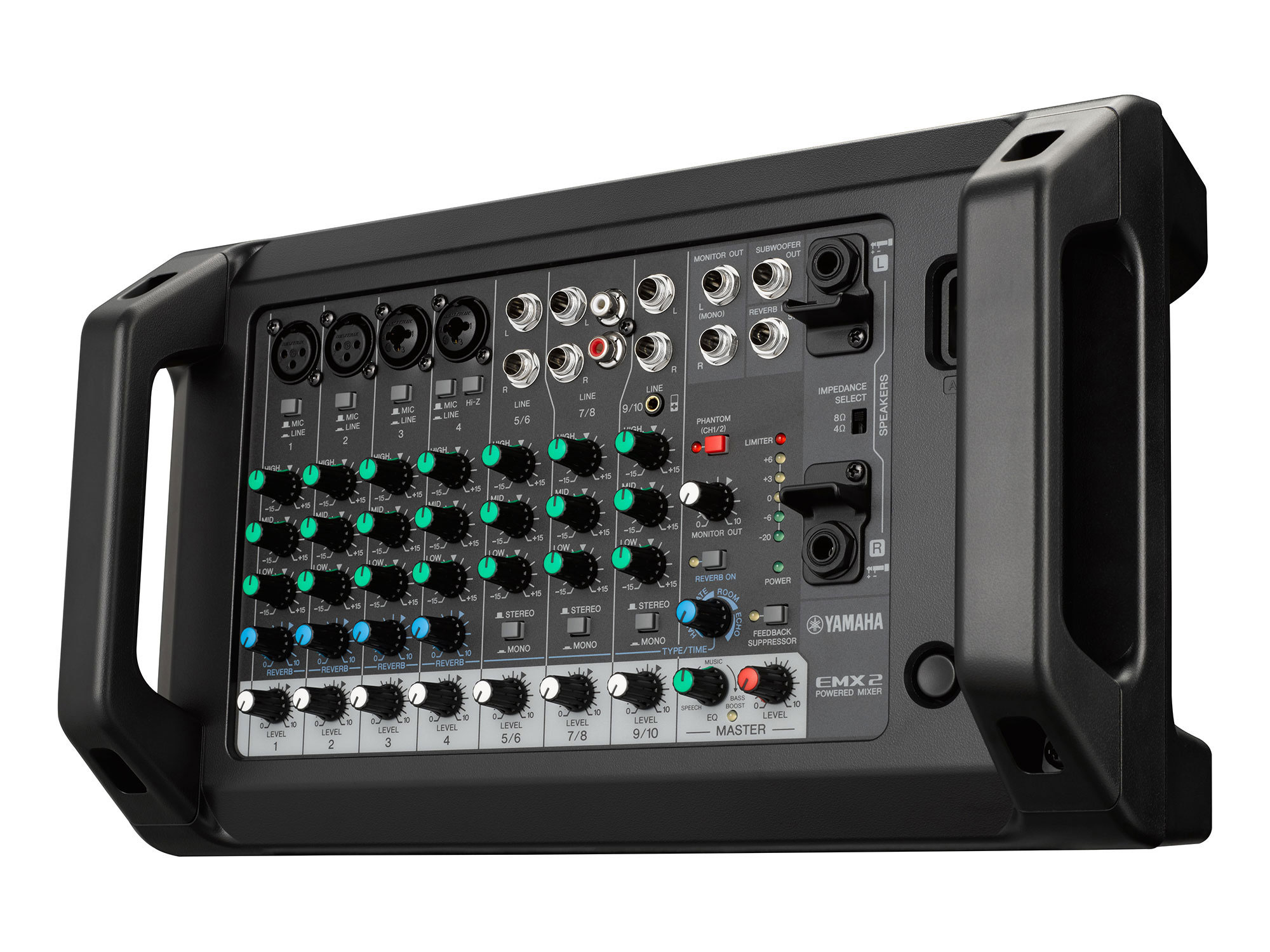 yamaha emx2 powered pa mixer 250w per channel at 4ohms