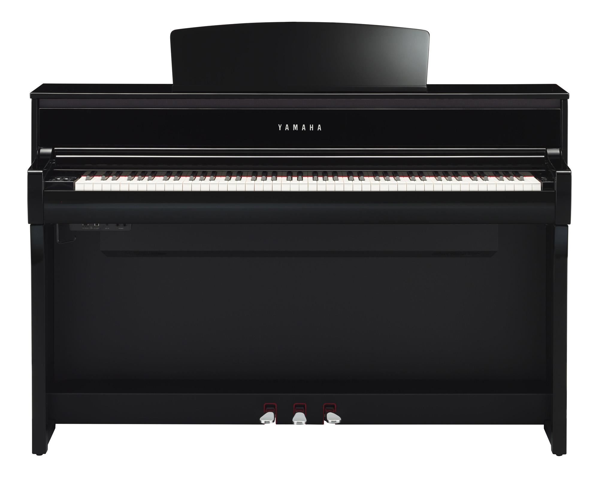 Yamaha clp 675 clavinova digital piano in polished ebony for Yamaha clp 675