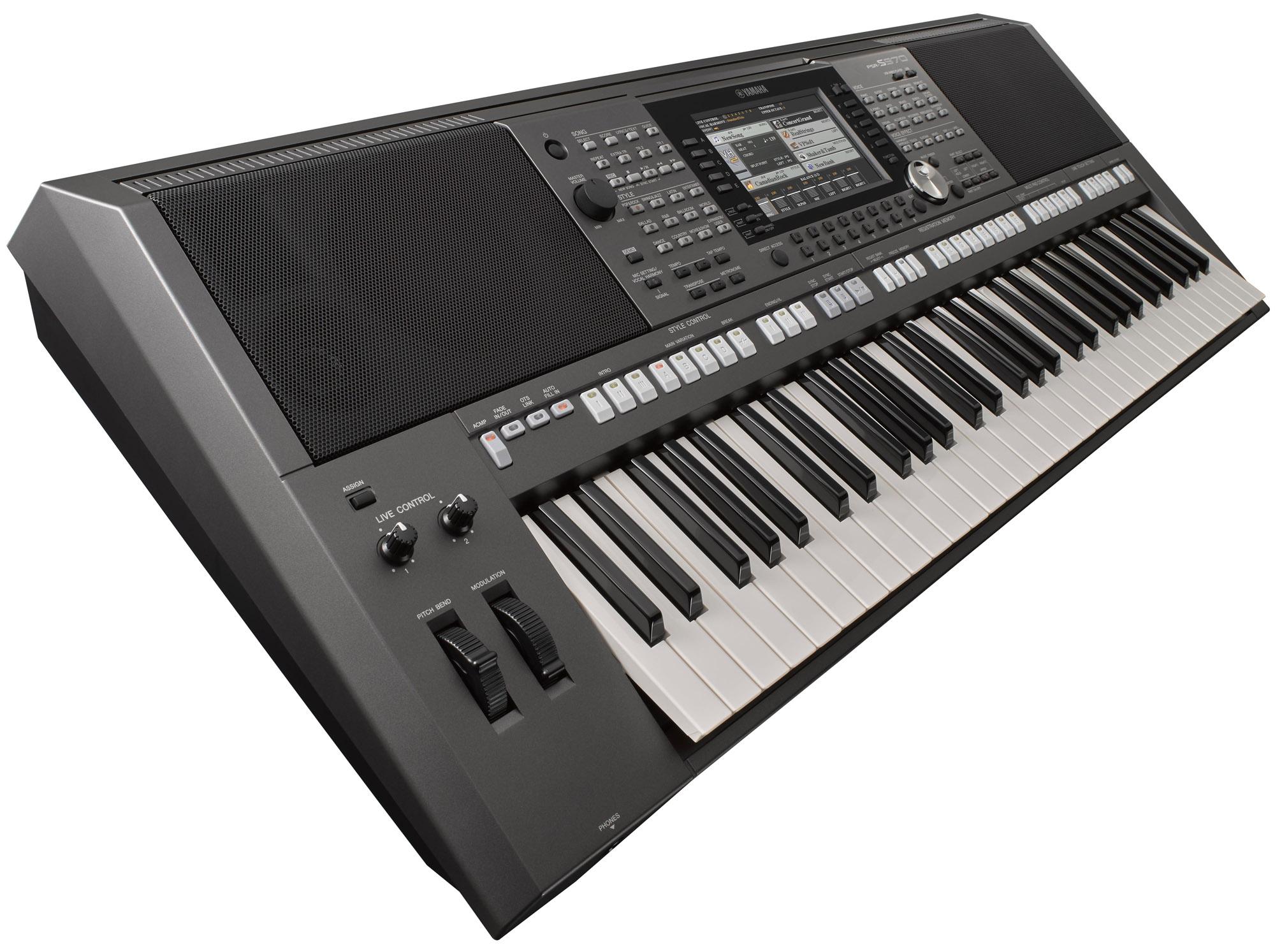 Yamaha PSR-S970 Arranger Workstation Keyboard | Yamaha ...