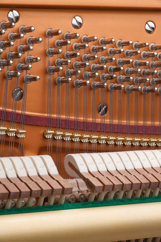 B 246 Sendorfer 120cl Upright Piano In Polished Ebony Finish