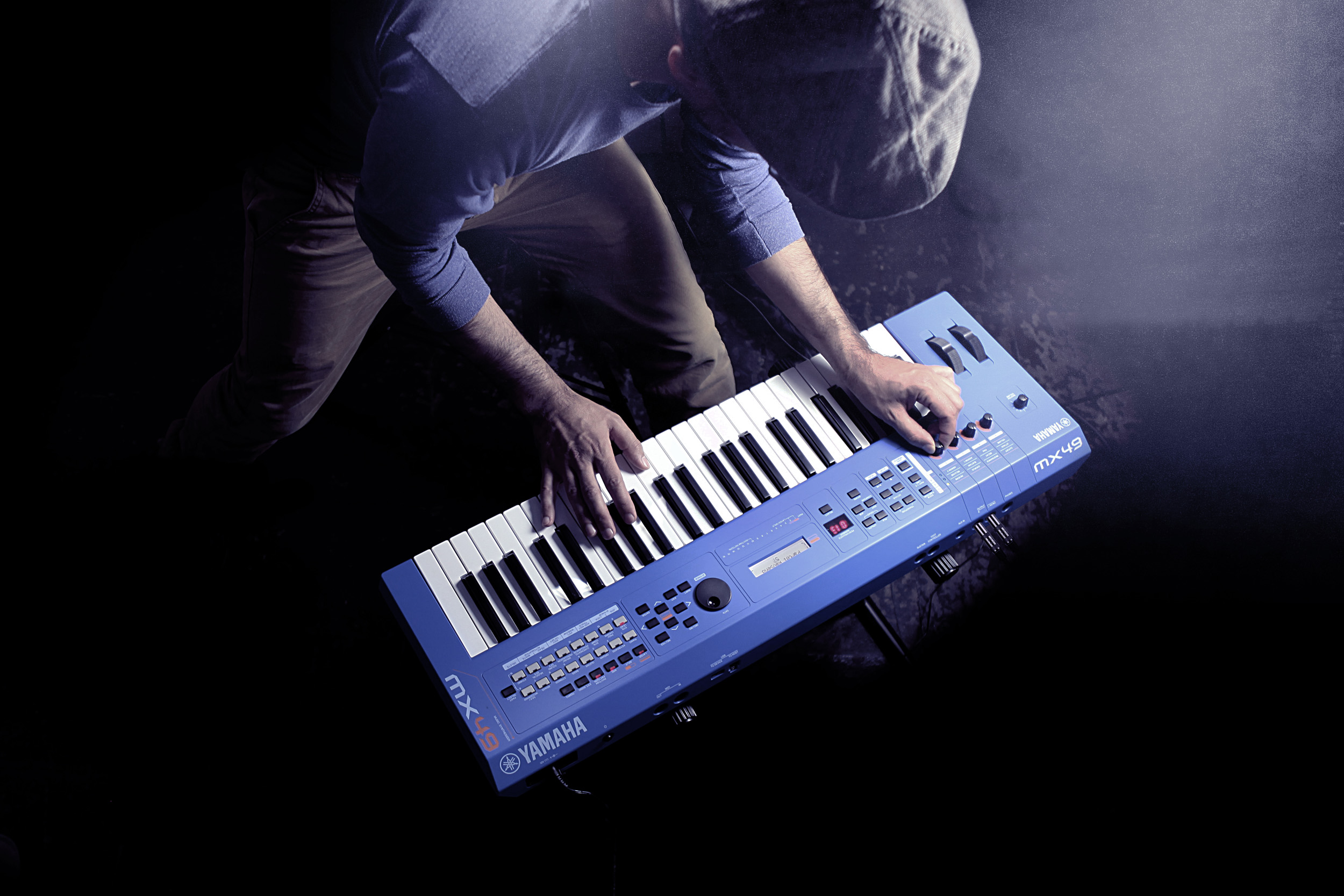 MX49 Version 2 Synthesizer 49 Key Edition, In Blue Finish