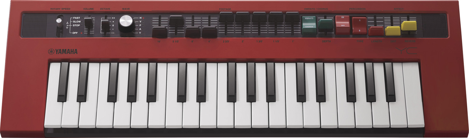 reface YC Mini Virtual Organ Electric combo organ: a ton of vintage sound  and control