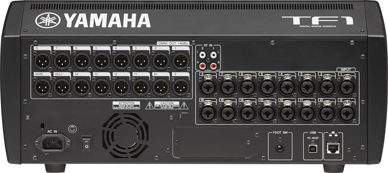 yamaha tf1 digital mixing console 40 input channel usb with touchflow operation mixer yamaha. Black Bedroom Furniture Sets. Home Design Ideas