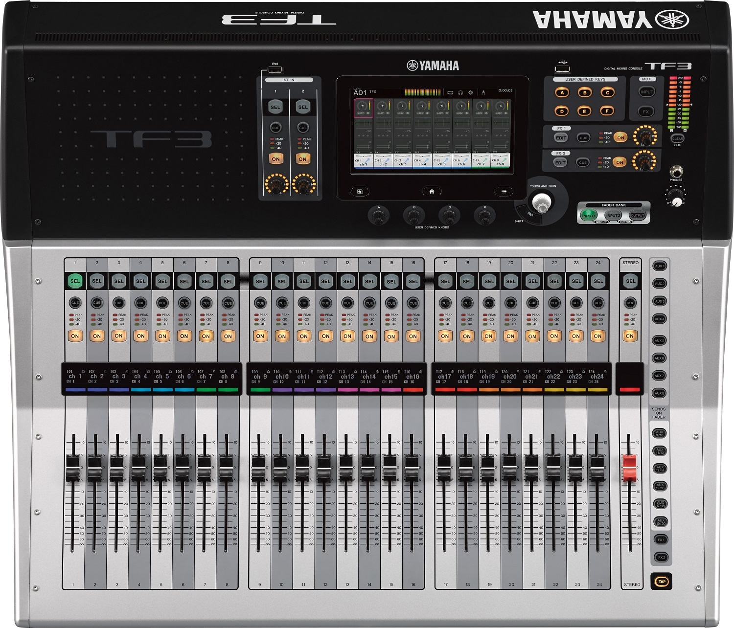 yamaha tf3 digital mixing console 48 input channel usb with touchflow operation mixer yamaha. Black Bedroom Furniture Sets. Home Design Ideas