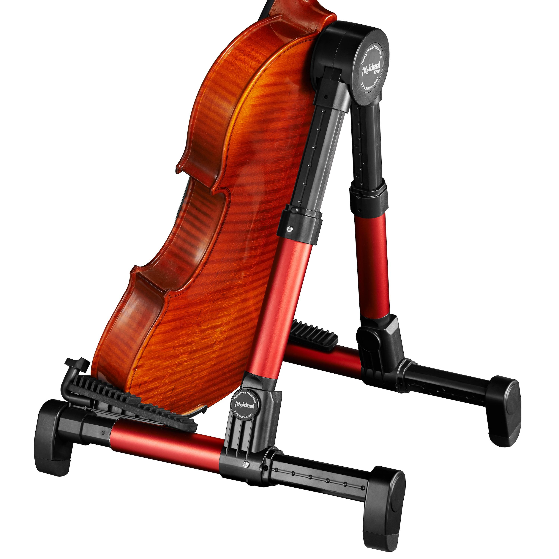meideal folding guitar ukulele violin stand black yamaha music london. Black Bedroom Furniture Sets. Home Design Ideas