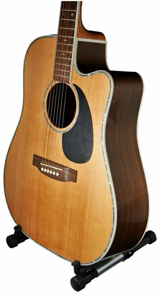 Meideal Fp10 Folding Guitar Ukulele Stand Blue Yamaha