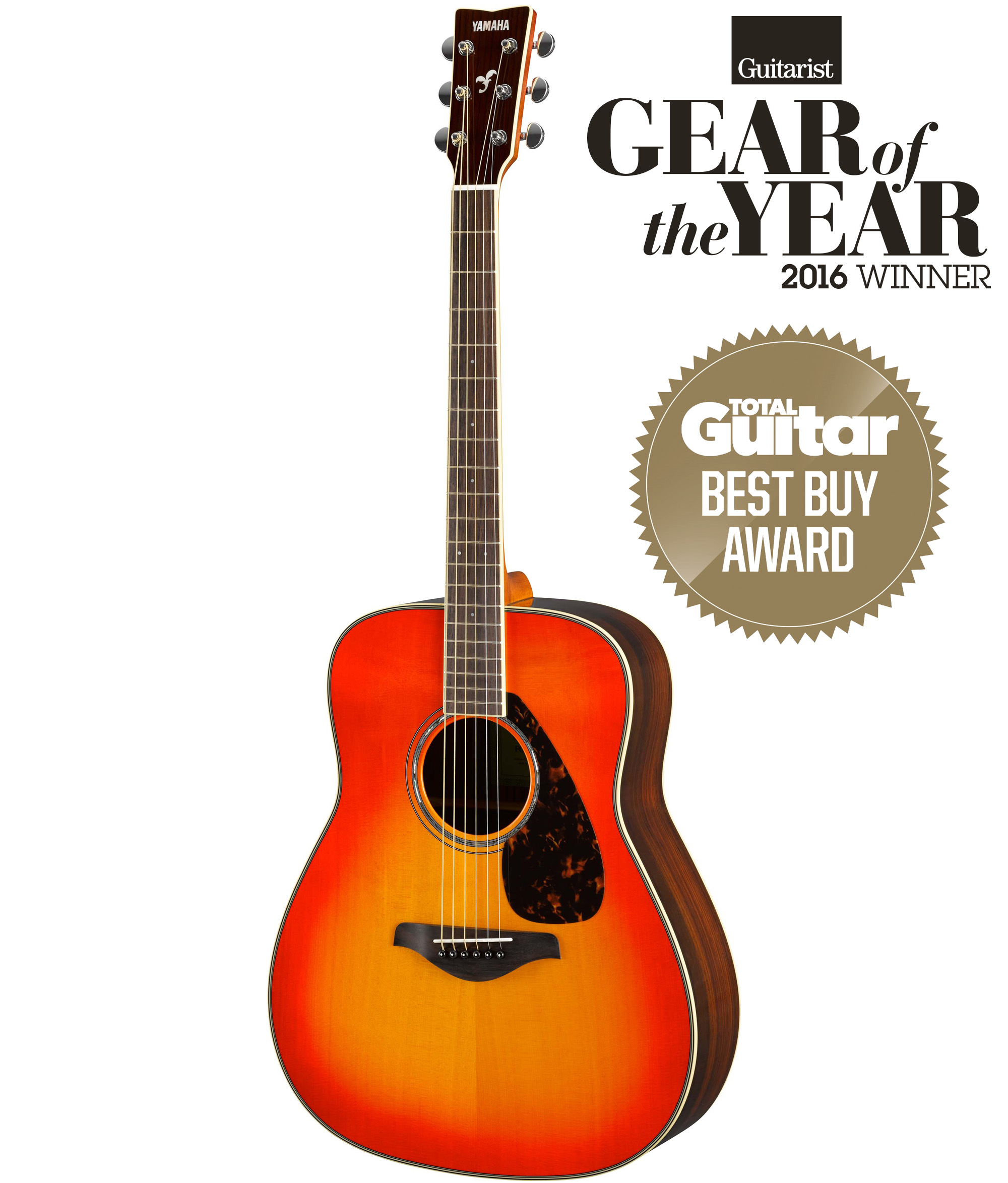 Yamaha fg830 acoustic guitar in autumn burst finish for Yamaha fg830 specs