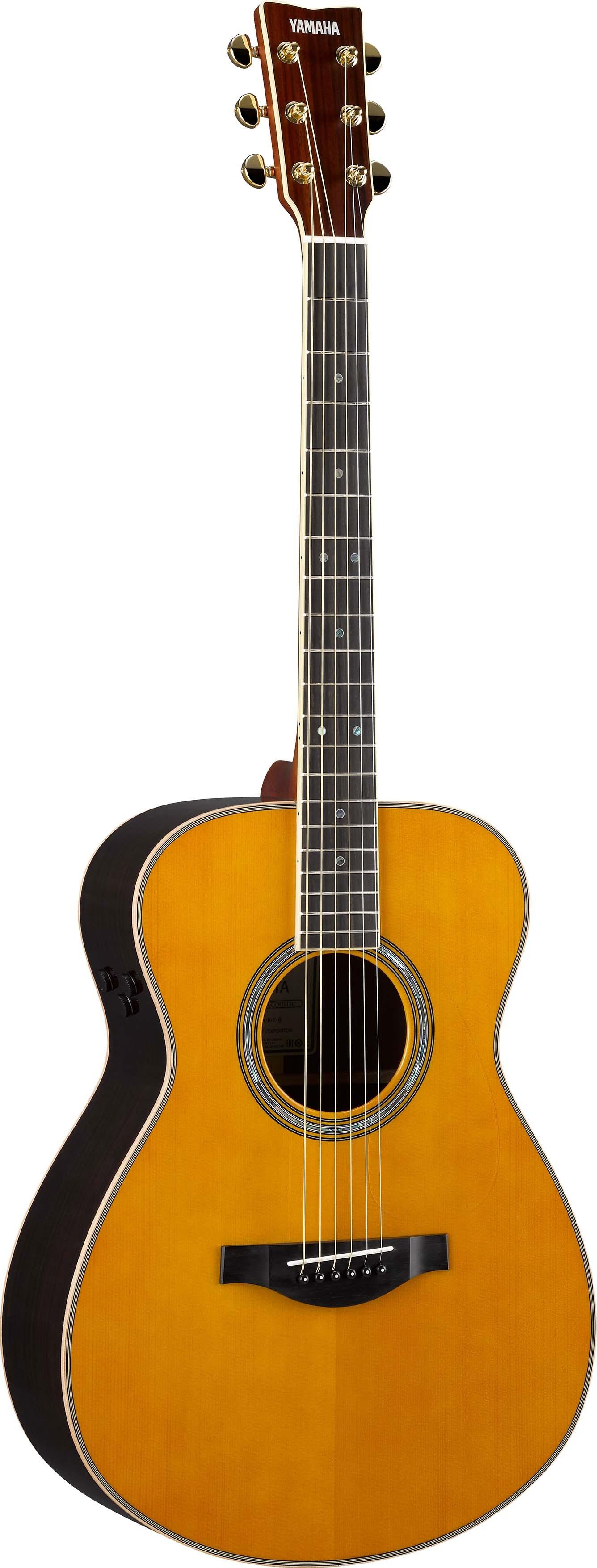 Yamaha ls ta transacoustic guitar revolutionary small body for Yamaha ls ta