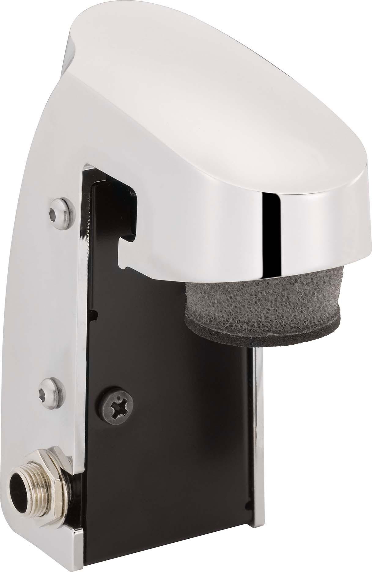 yamaha dt50s snare tom drum trigger with head rim pickups solid die cast metal body chrome. Black Bedroom Furniture Sets. Home Design Ideas