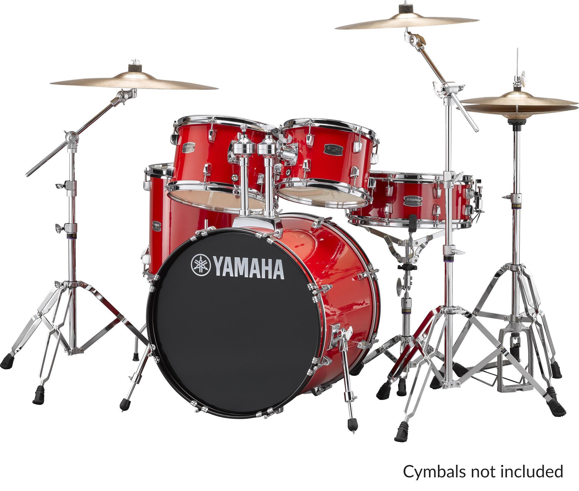Yamaha Rydeen Drum Shell Kit With Hardware 20 Quot Kick Drum
