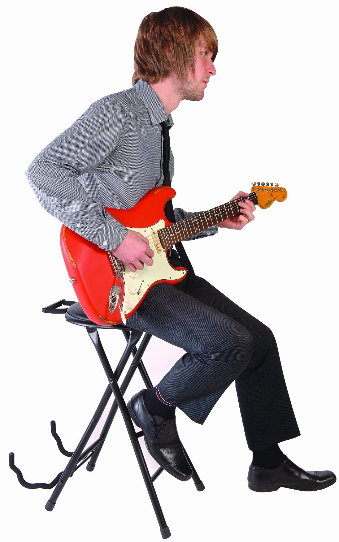 Kinsman Guitarist S Dual Stool Combination Instrument