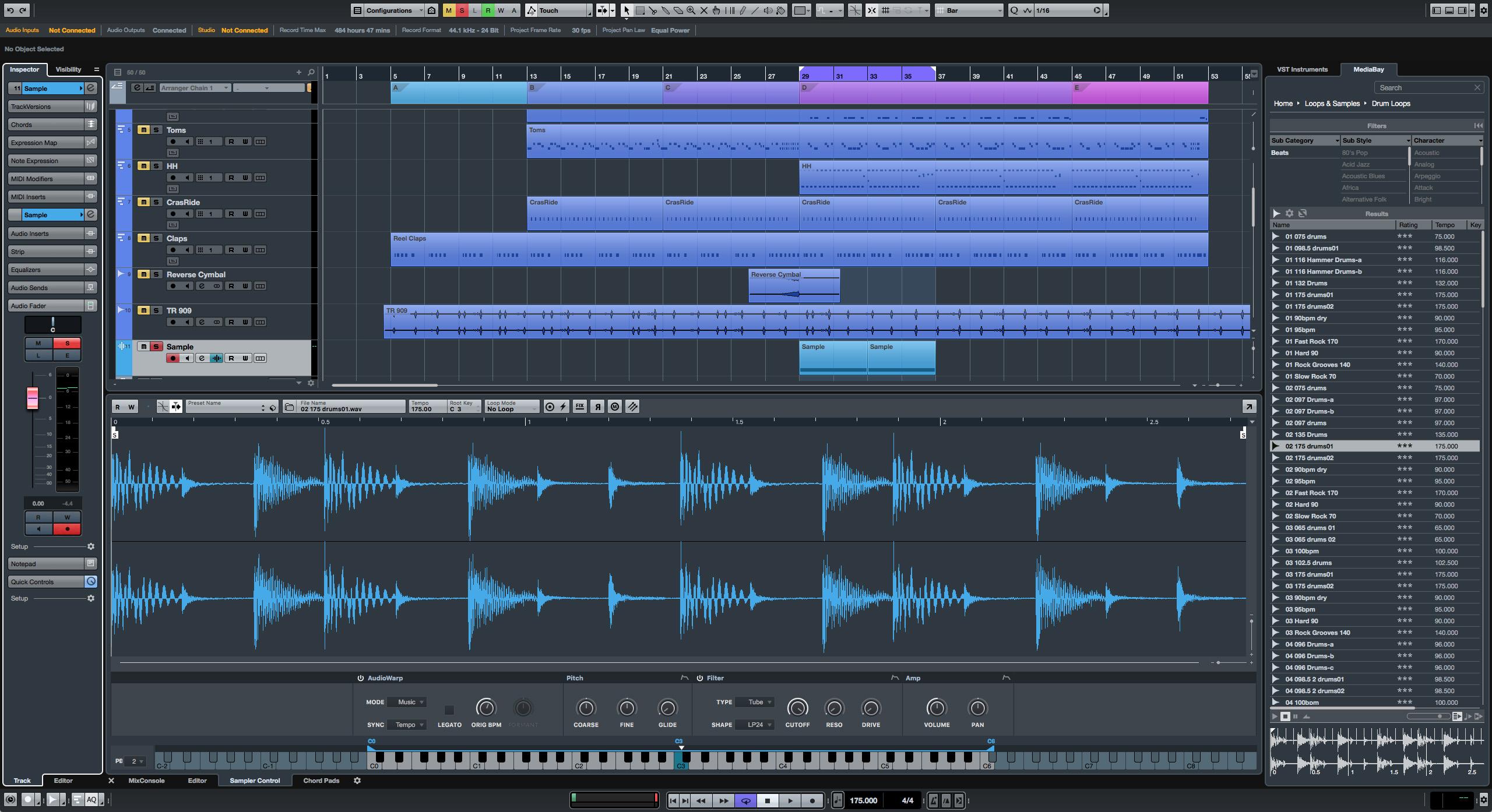 Cubase Pro 9 Studio DAW Software (Full Licence)
