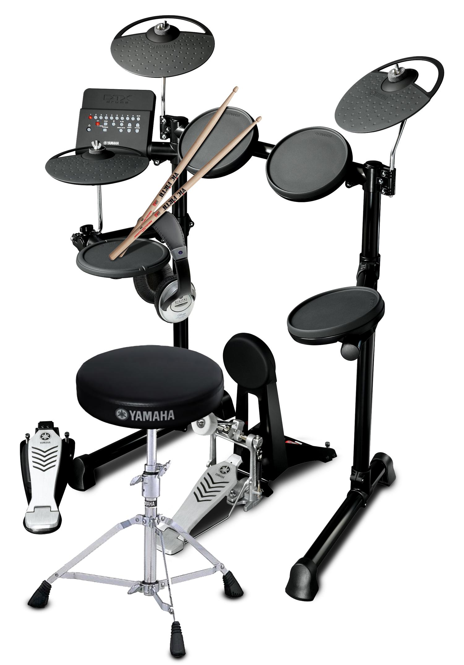 yamaha maverick beginner drum pack featuring the yamaha dtx450k electronic drum kit yamaha. Black Bedroom Furniture Sets. Home Design Ideas