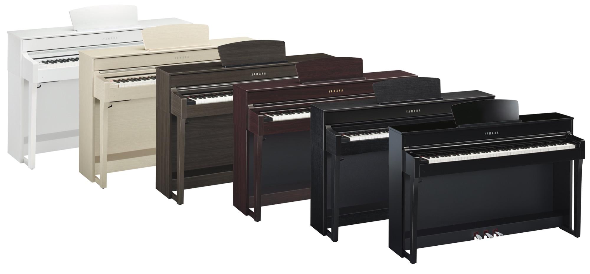 yamaha clp 635 clavinova digital piano various colours finishes available yamaha music london. Black Bedroom Furniture Sets. Home Design Ideas