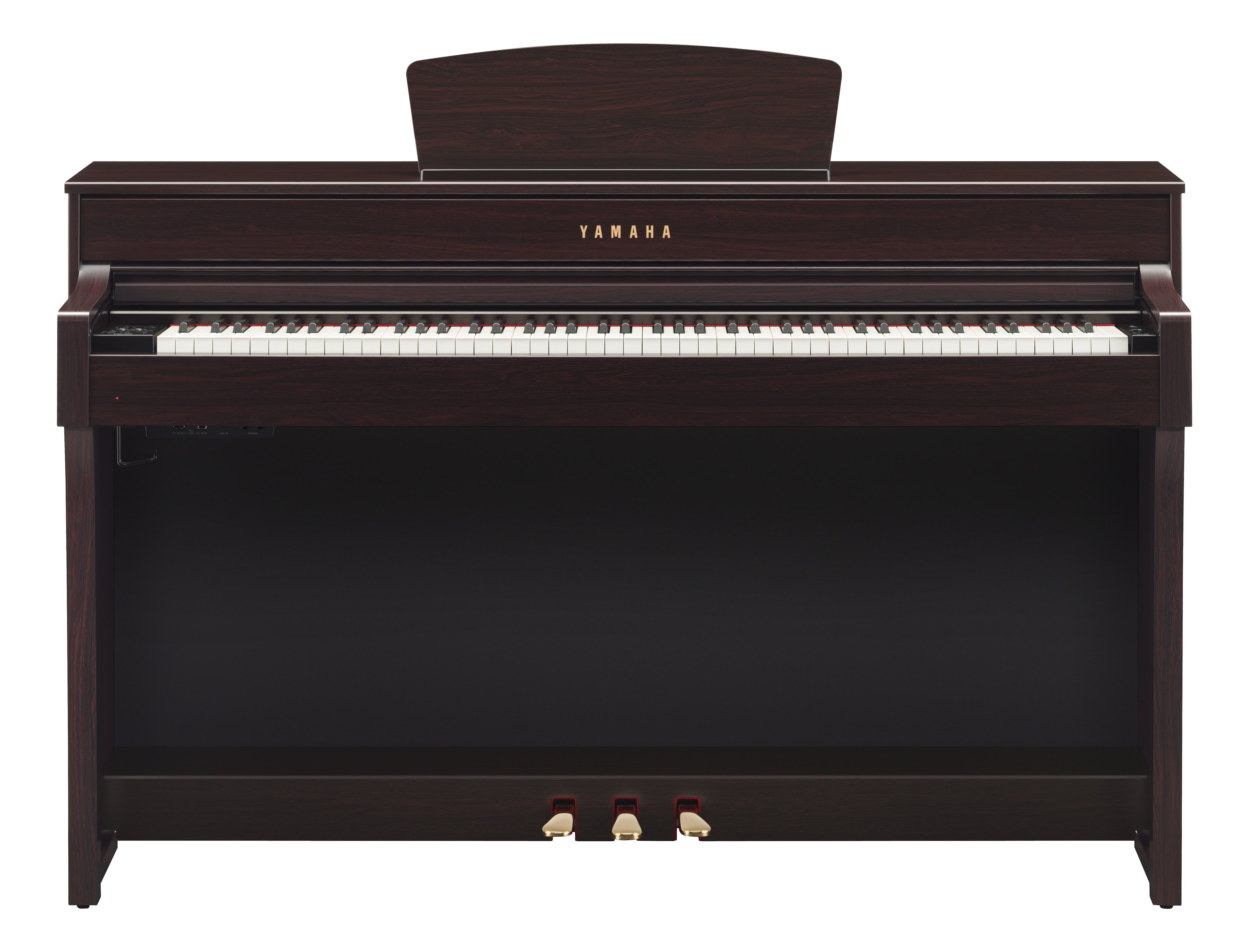 Yamaha Clp 635 Deluxe Clavinova Piano Pack In Rosewood