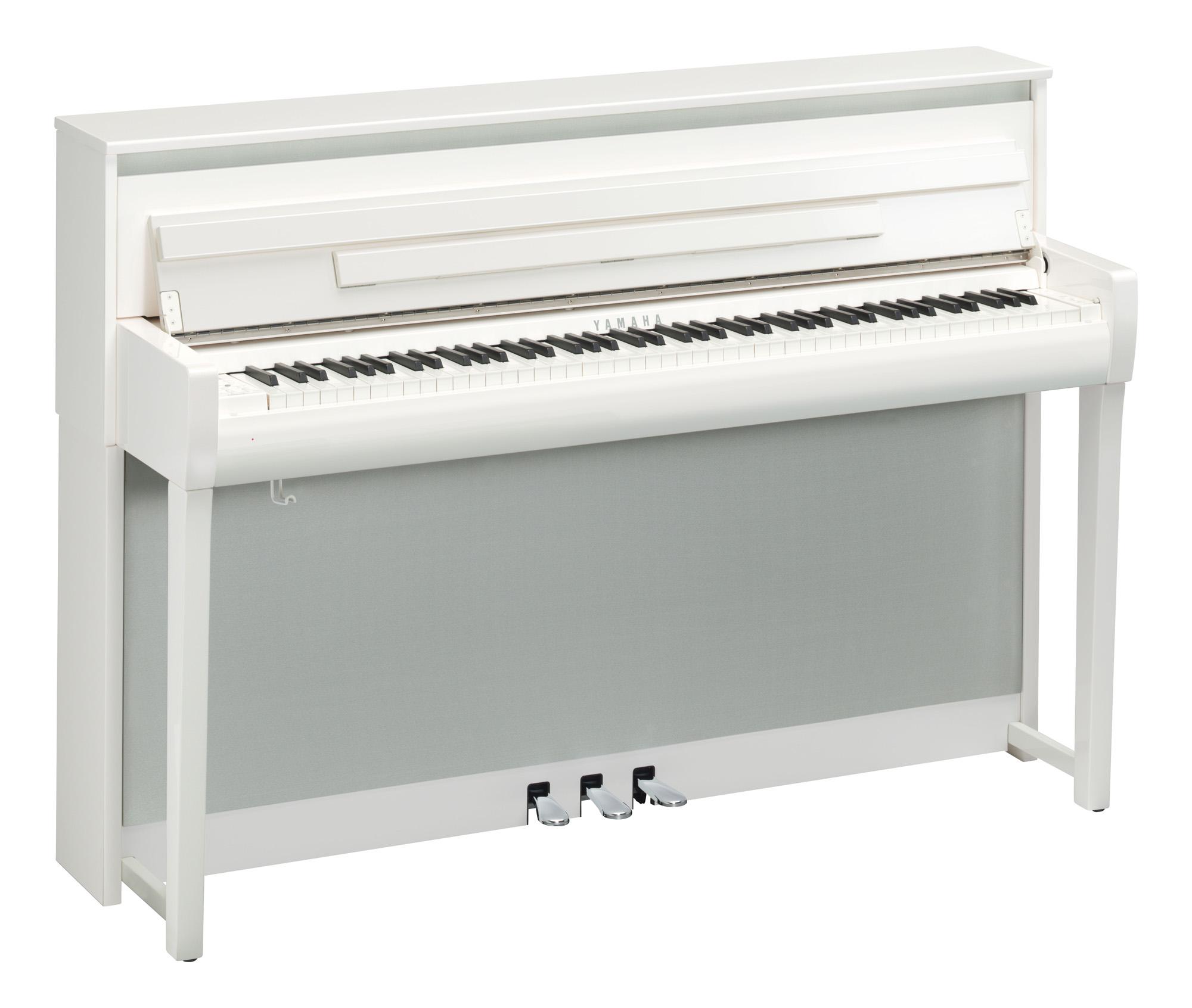Yamaha Clp 685 Clavinova Digital Piano In Polished White