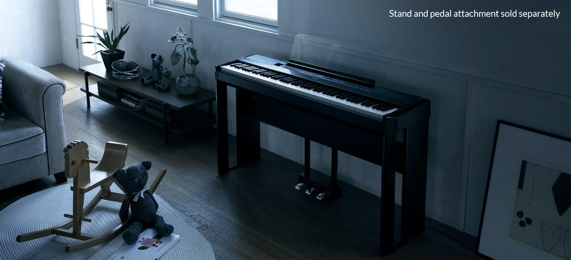 Yamaha P 515 Portable Digital Piano In Black Finish Music Fc5 Pedal Wiring Diagram