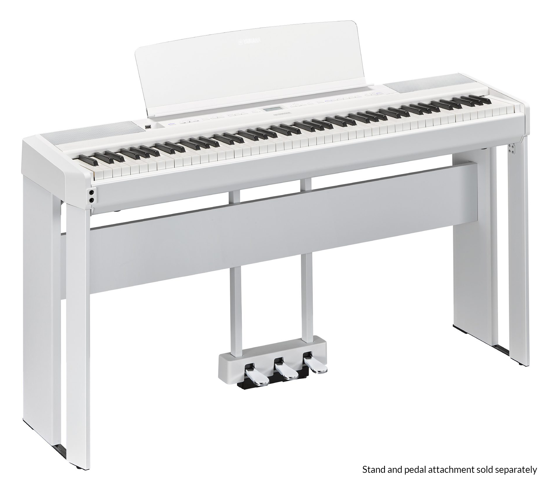 Yamaha P 515 Portable Digital Piano In White Finish Music Fc5 Pedal Wiring Diagram