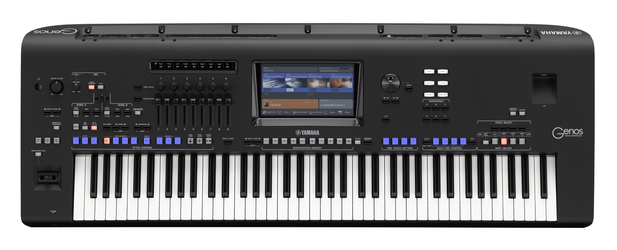 Yamaha Genos Workstation Ultimate Pack Including Official