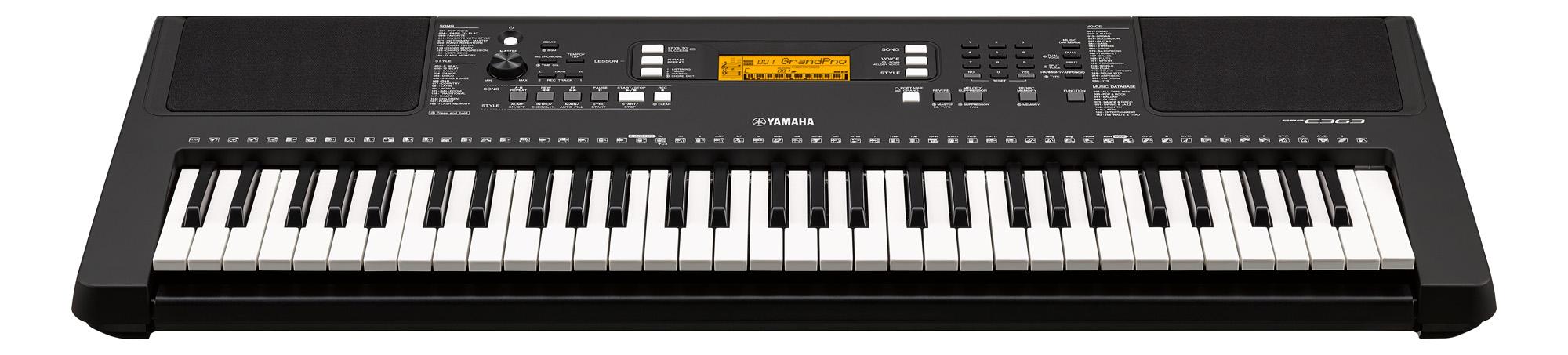 PSR-E363 Home Keyboard