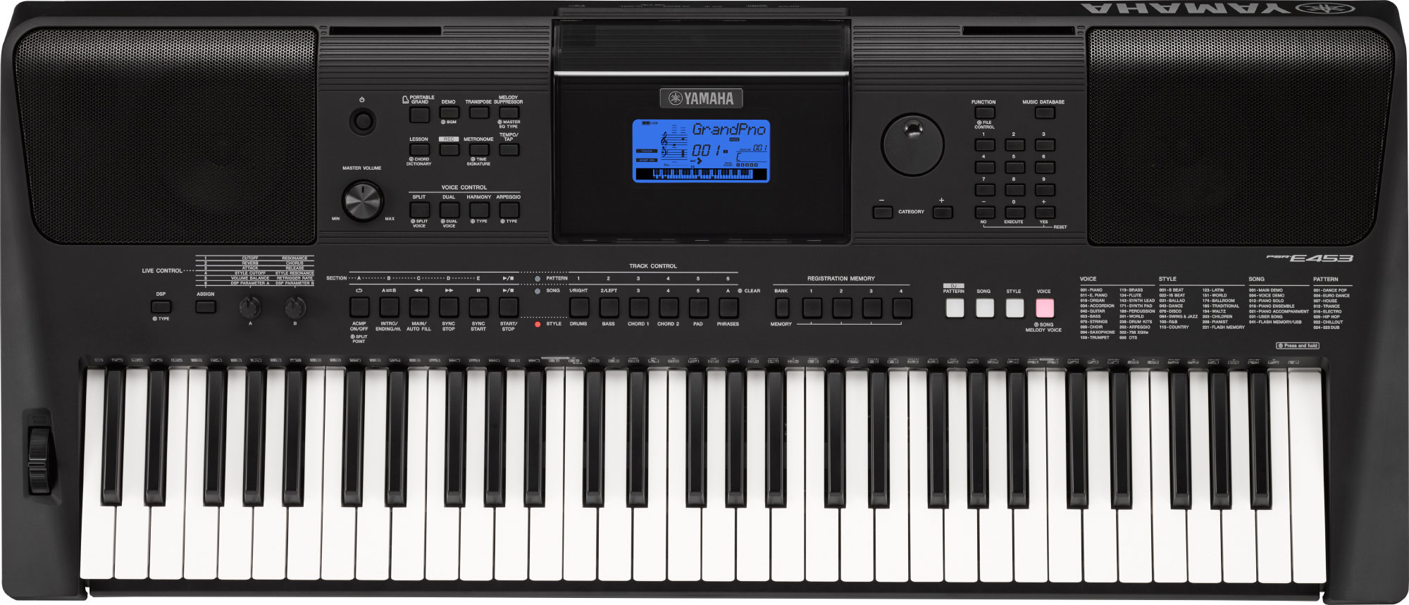 yamaha psr e453 home keyboard yamaha music london rh yamahamusiclondon com User Training Example User Guide