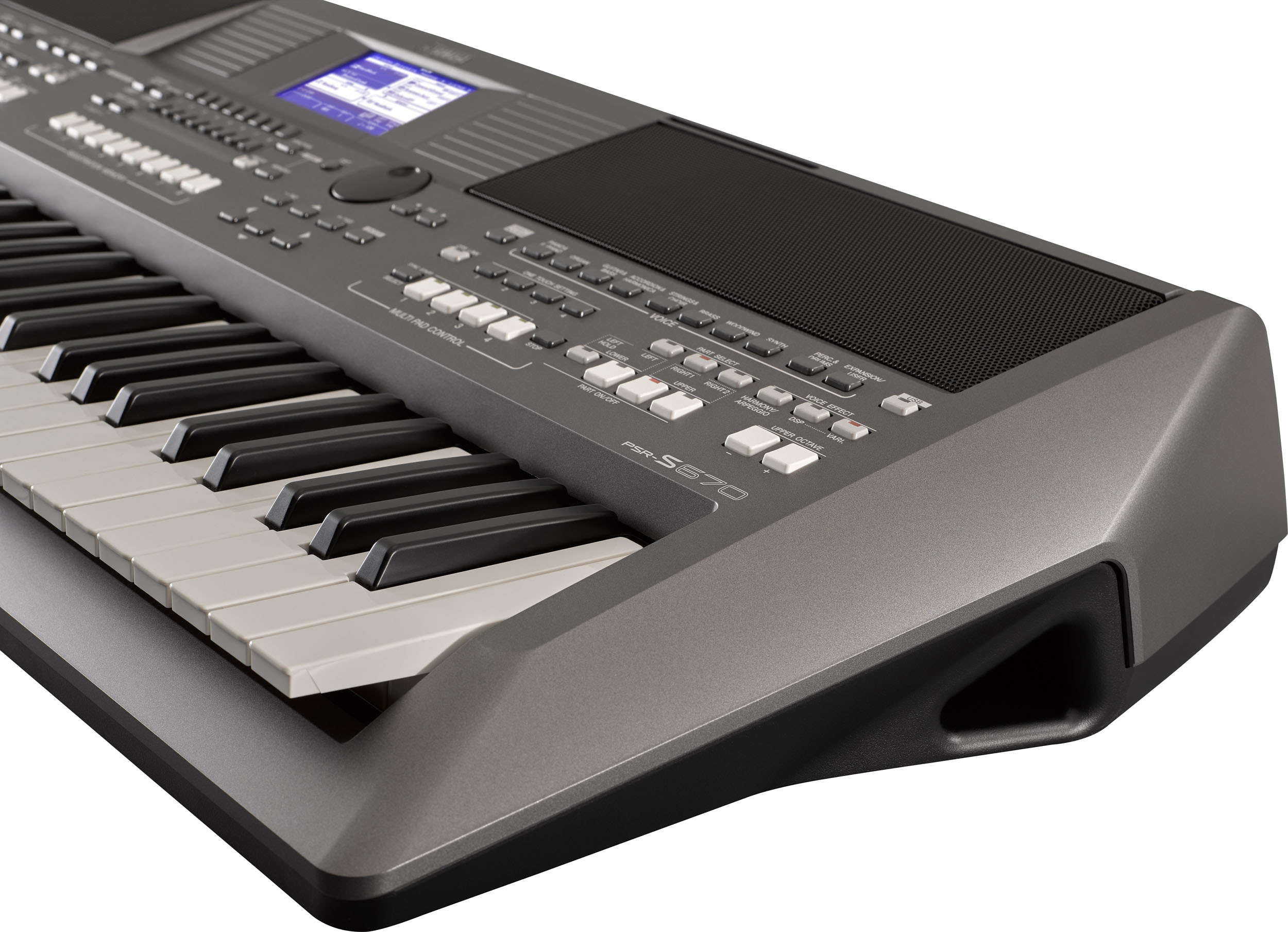 Yamaha Psr S670 Arranger Workstation Keyboard Featuring