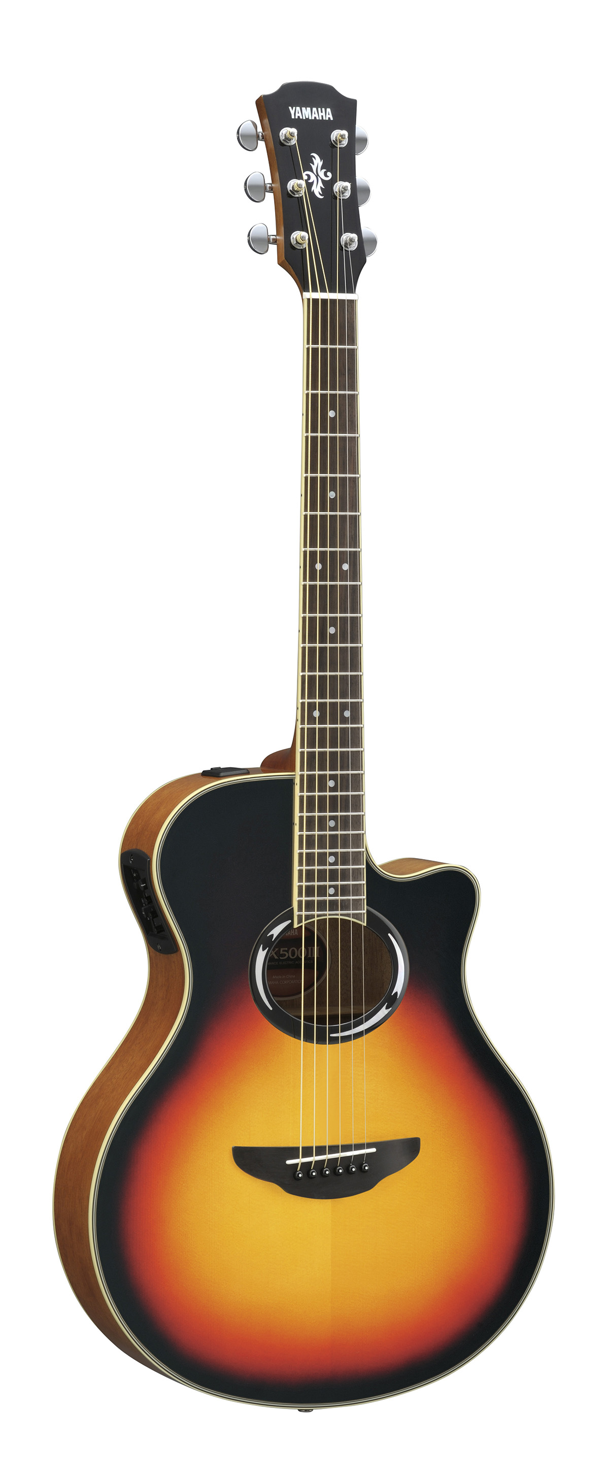 Yamaha Apx500 Mkiii Electro Acoustic Guitar In Vintage