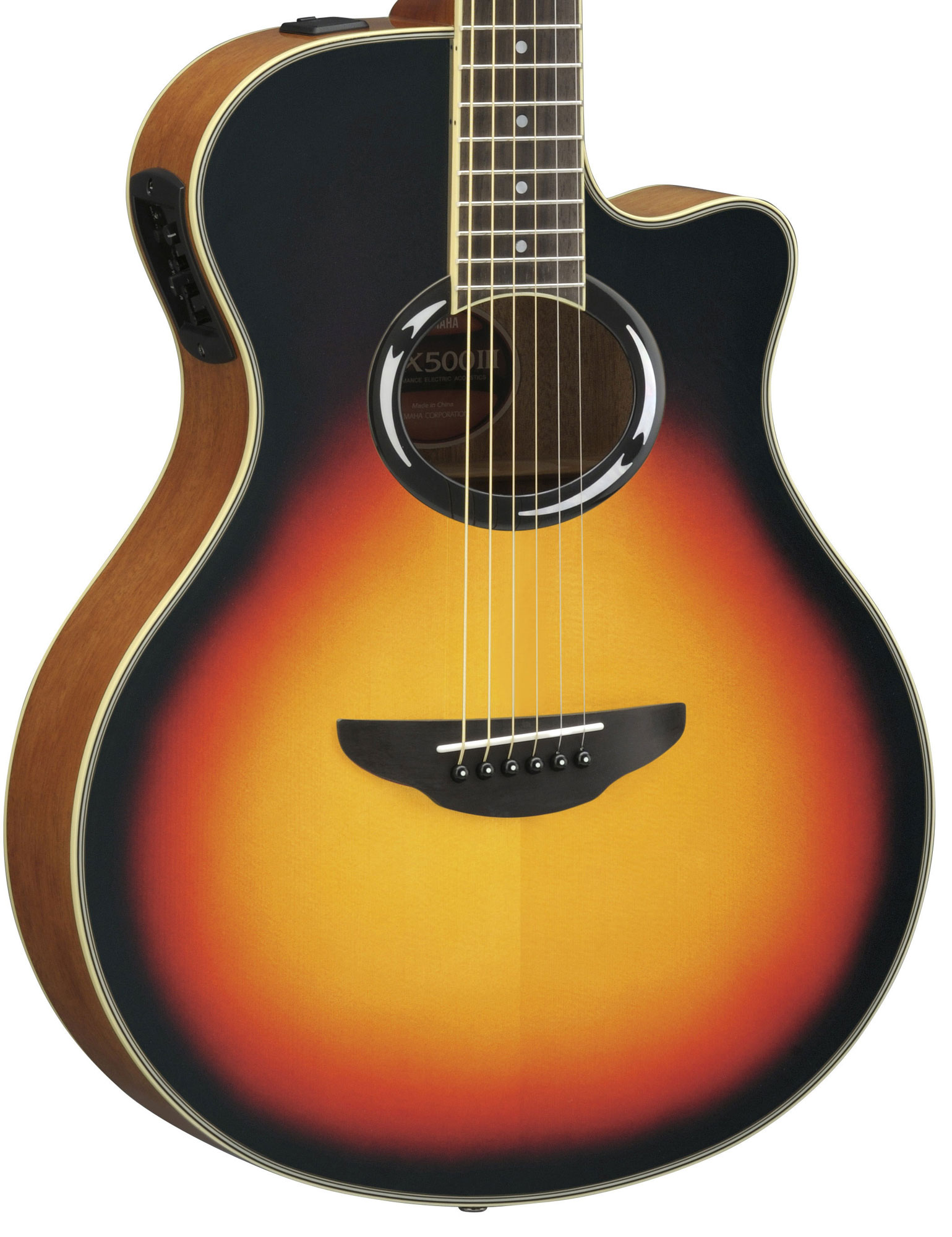 yamaha apx500 mkiii electro acoustic guitar in vintage. Black Bedroom Furniture Sets. Home Design Ideas