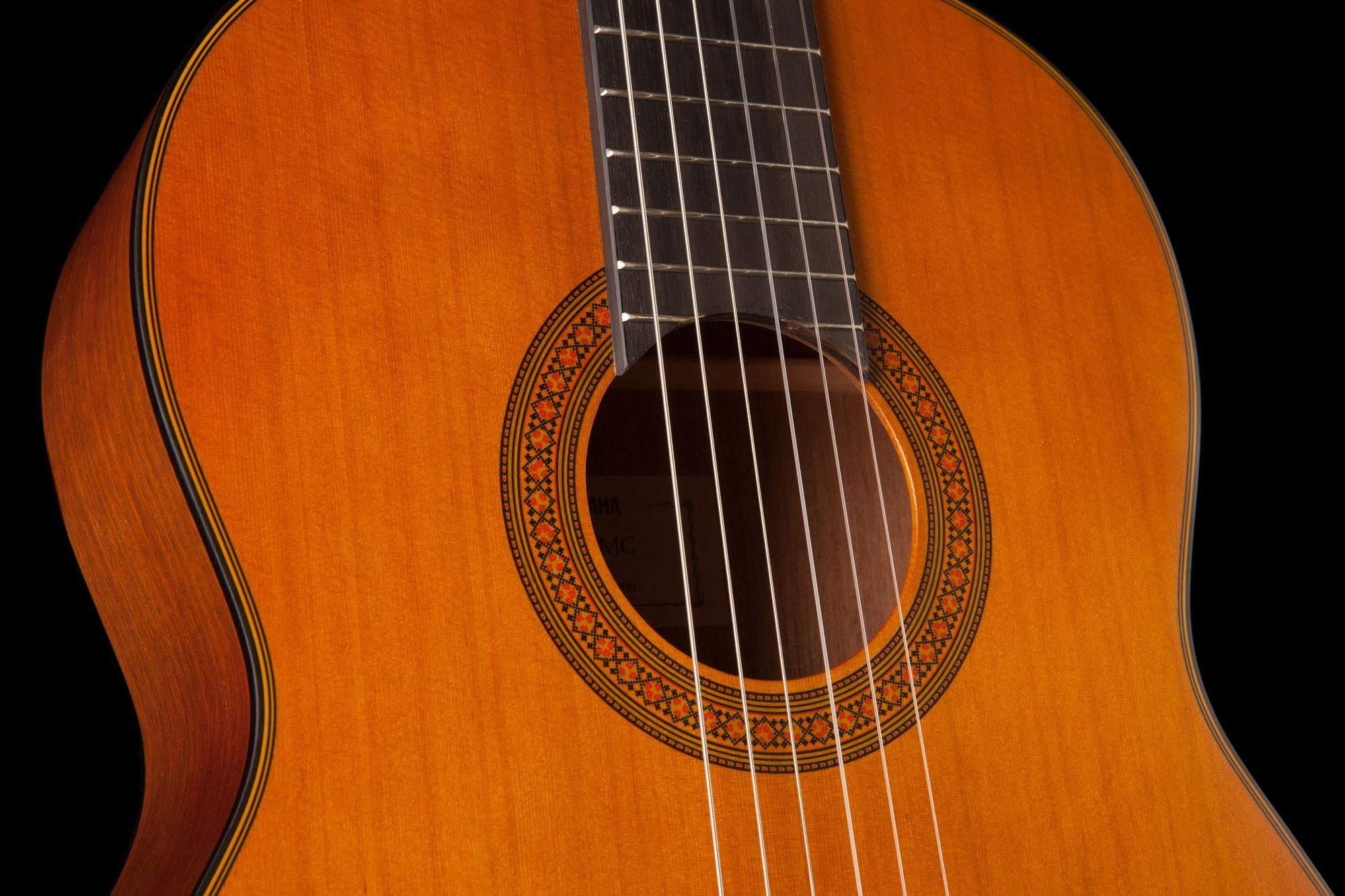 yamaha cg122mc solid cedar top classical guitar in natural finish yamaha music london. Black Bedroom Furniture Sets. Home Design Ideas