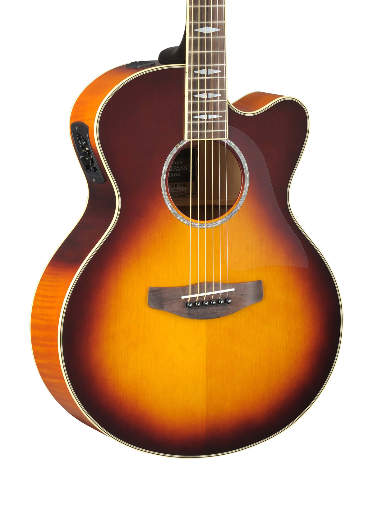 yamaha cpx1000 electro acoustic guitar in brown sunburst finish yamaha music london. Black Bedroom Furniture Sets. Home Design Ideas