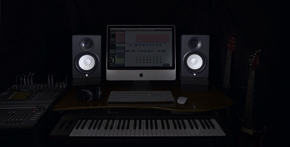 Yamaha Hs8 Monitor Speaker 120w Combined 75w 45w In
