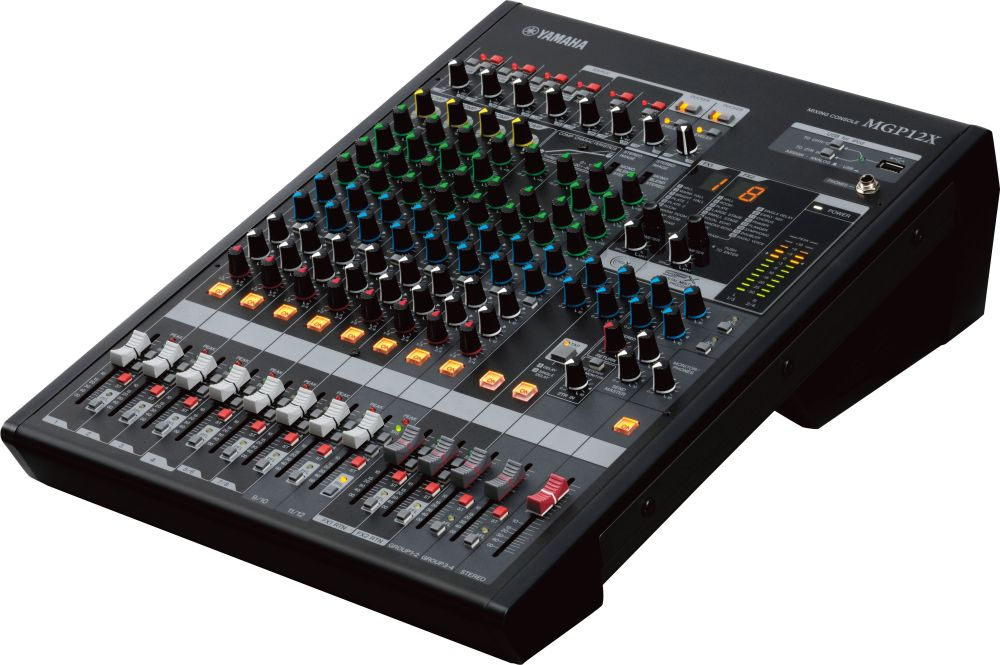 yamaha mgp12x 12 mixer 12 channel dual digital effects processors yamaha music london. Black Bedroom Furniture Sets. Home Design Ideas