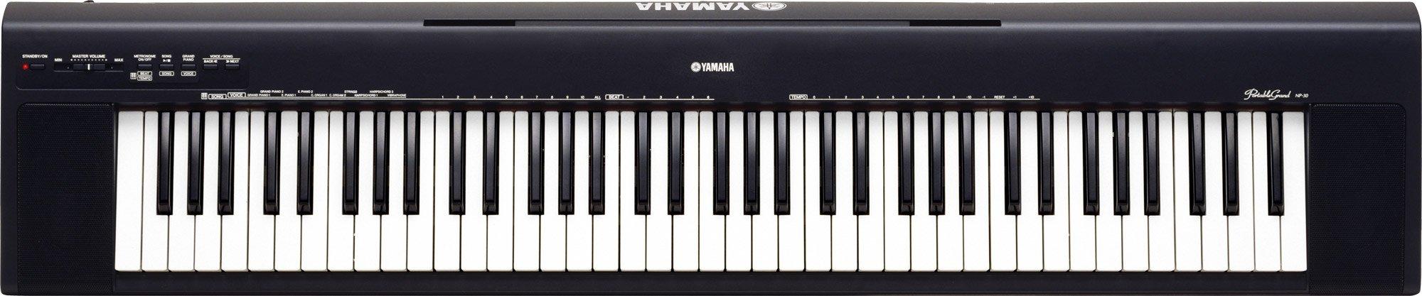 yamaha np 30 portable grand keyboard inc gigbag and power. Black Bedroom Furniture Sets. Home Design Ideas
