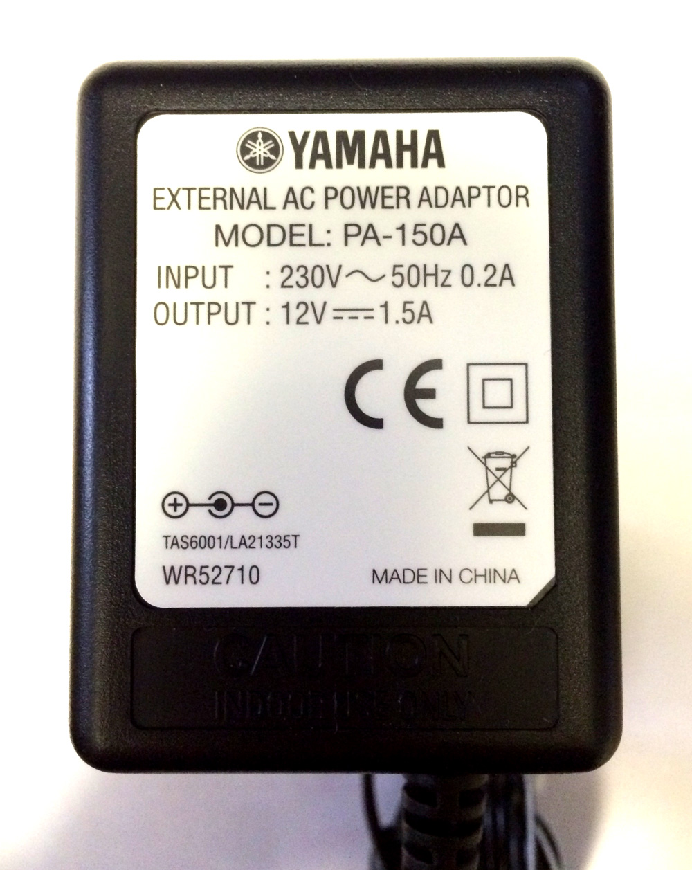 Yamaha pa 150a mains power adapter this model replaces epa for Yamaha pa150 keyboard ac power adapter