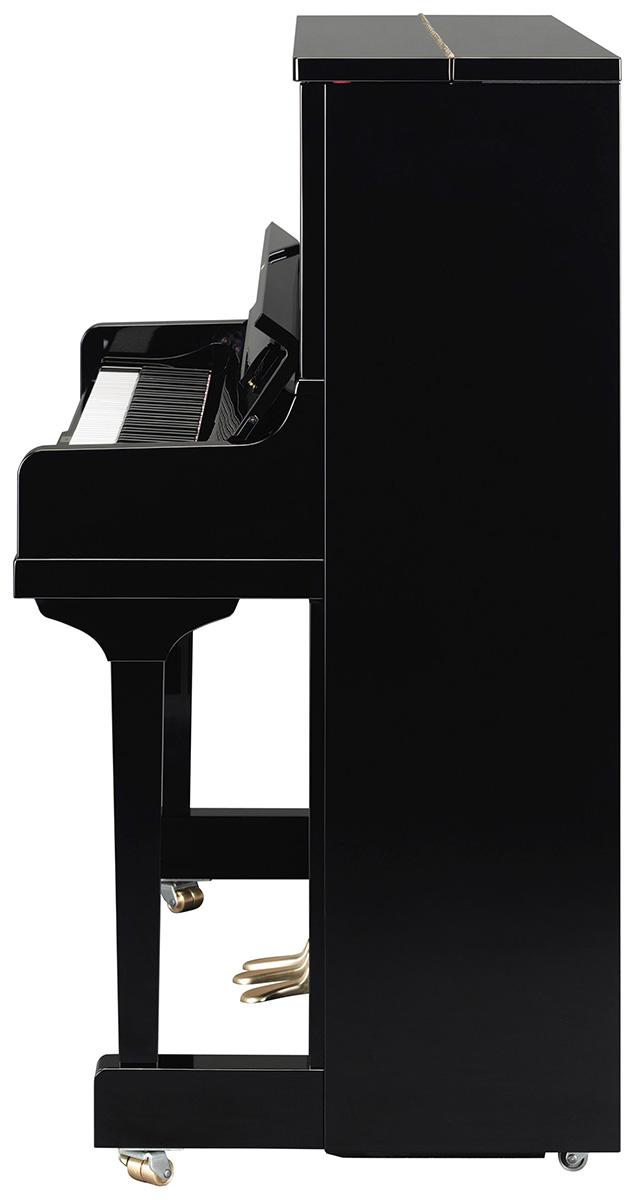 Yamaha Se122 Upright Piano In Polished Ebony Finish
