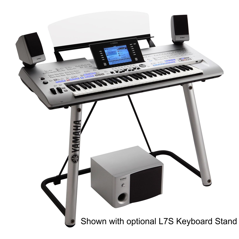 yamaha tyros4 tyros 4 arranger workstation keyboard with ms04 speakers flagship performer. Black Bedroom Furniture Sets. Home Design Ideas